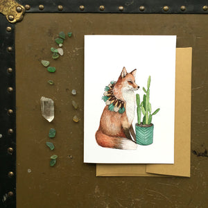 Fox - Critters and Plants