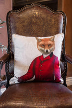 Fox in the Red Hunting Jacket Portrait