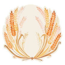 The image of the die cut wheat placemat