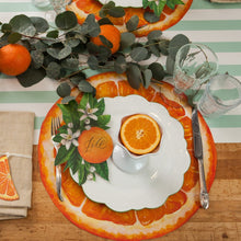 Orange Slice Placemat  Die Cut