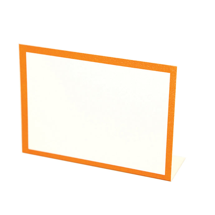 Orange Frame Placecard