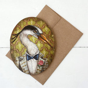 Mr. Franklin B Heron Card - Blank