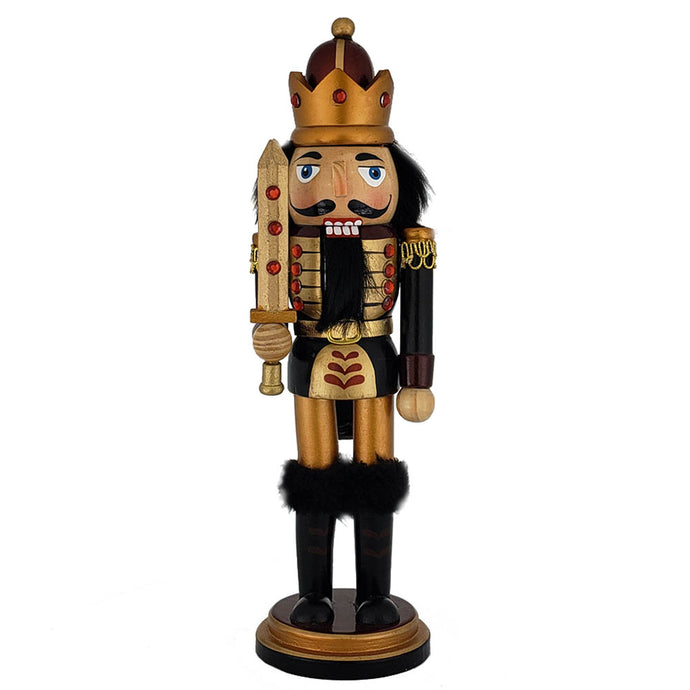 King Nutcracker Copper/Gold Metallic  w/ Sword   10