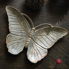 Zinc Butterfly Jewelry Dish