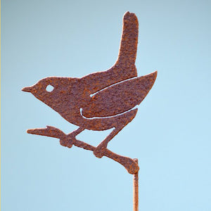 Wren on a Branch Pick by Rusty Birds