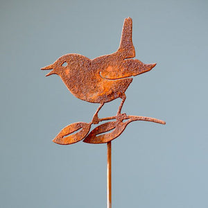 Bird with Leaves Pick by Rusty Birds