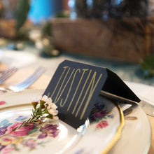Chalkboard Tented Place cards