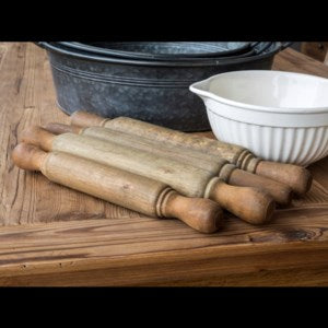 Assorted Wooden Rolling Pins