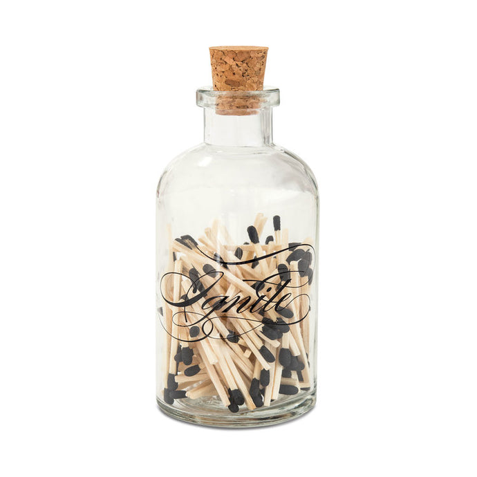 Match Sticks in an Apothecary Jar