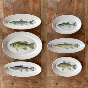 Trout Fish Platter Elongated
