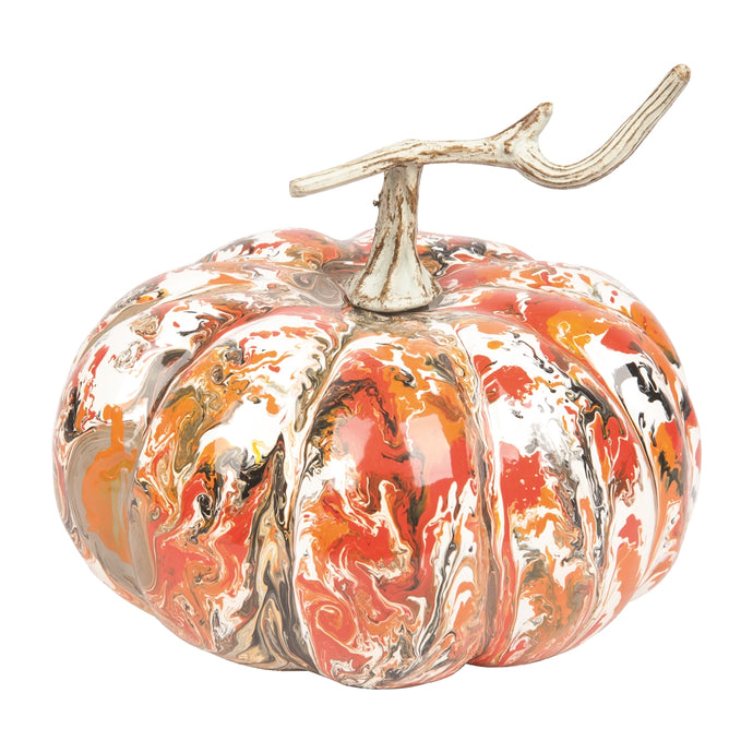 Marbleized Pumpkin Large