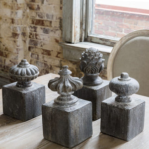 Finial Relics set of 4
