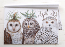 Winter Owls Placecards