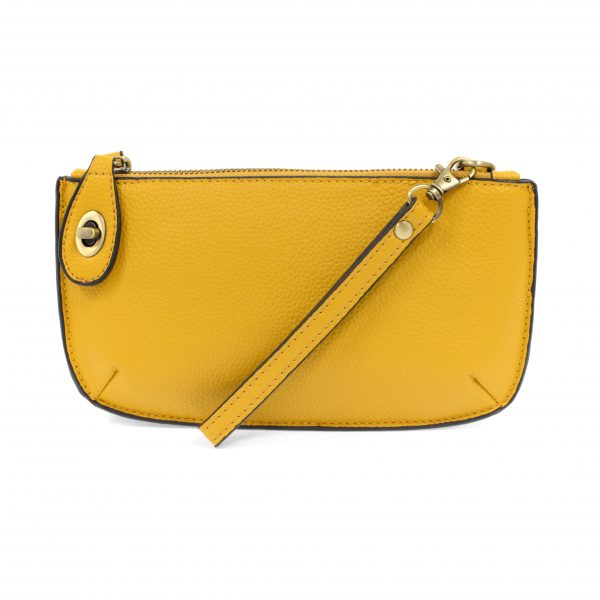 Goldenrod Mini Crossbody Wristlet Clutch