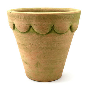 The Orleans Planter in Verdi Green and Natural.