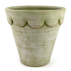 The Orleans Planter in Moss Green