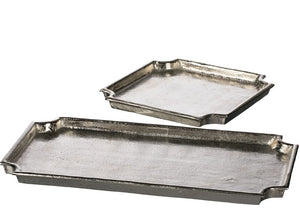 Metal Silver Nickel Trays
