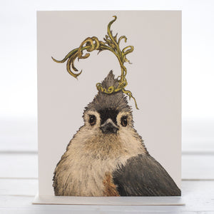 Audrey Tufted Titmouse Card