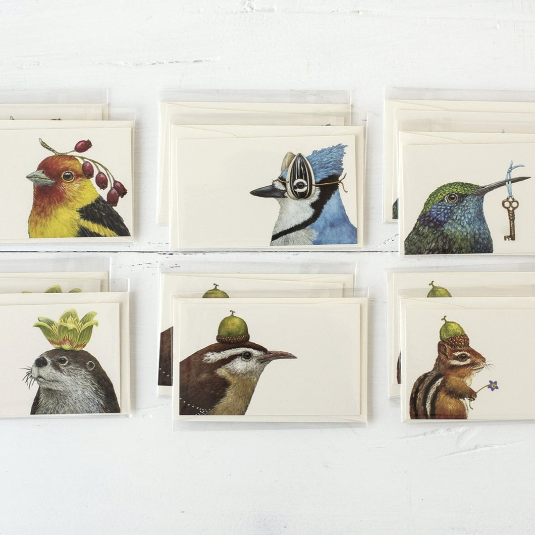Nature Friends Enclosure Cards