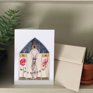 A Poppy Home Greeting Card