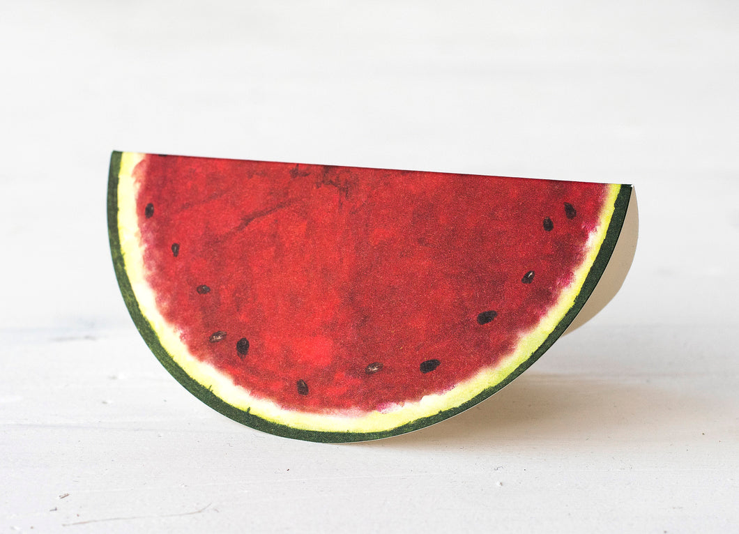Watermelon Place Card