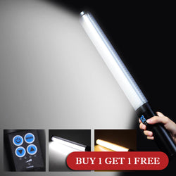 Bi-Color 516LED Wrap-Around Handheld Dimmable LED Daylight Light