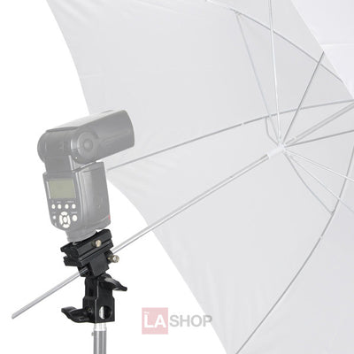 Flash Hot Shoe Mount Adapter Trigger Umbrella Holder