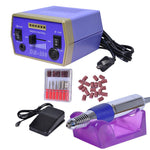 Manicure Nails Salon Electric Nail Drill File Machine Kit