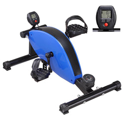 Portable Magnetic Pedal Exerciser Bike Leg Hand Cycle Workout
