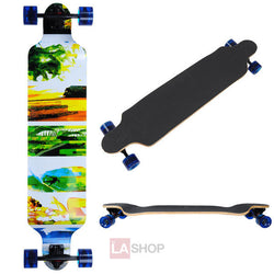 41in Longboard Skateboard Complete Hawaii Graphic