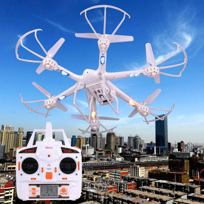 RC Quadcopter MJX X600 Remote Control 2.4G 6 Axis FPV 3D White