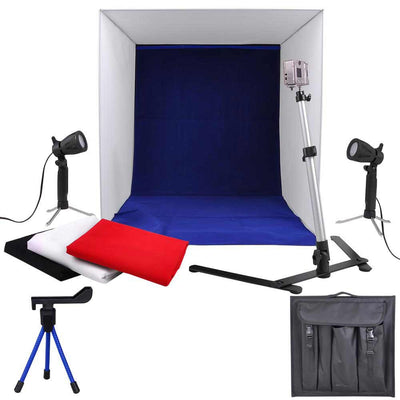"16"" Photo Cube Studio Light Tent Box Kit"