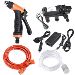 100W 160PSI 12V Car Electric Pressure Washer Water Sprayer Pump