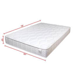 "Full Mattress 10"" Pocket Coil Spring Memory Foam CertiPUR-US"