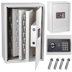 15x9x21 inch 245 Key Electronic Key Cabinet Digital Safe Box