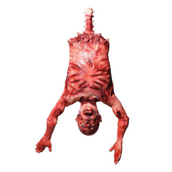 29x7x37in Halloween Props Hanging Torso Severed Skinned
