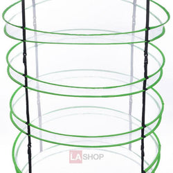 3ft 6 Layer Detachable Plant Drying Rack Hanging Net