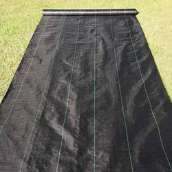 Weed Block 6ft x 250ft Landscape Fabric Ground Cover 4.1oz Woven PP