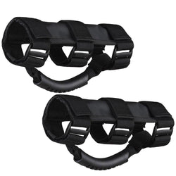 Rear Roll Bar Grab Handle Pair for Jeep Wrangler