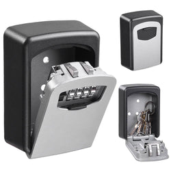4-Digit Wall Mount Key Lock Box Security Storage