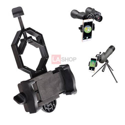 Universal Cell Phone Adapter Mount for Telescope Microscope