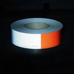 "2"" x 150' DOT-C2 Truck Reflective Conspicuity Tape Red/White"