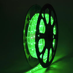 (UK) DELight 12m Green LED Rope Light Waterproof Decorative Light