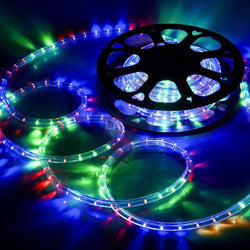 (UK) DELight 12m Multicolor LED Rope Light Waterproof Indoor Outdoor