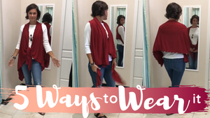 Trending Fashion: Our Best Selling 5-in-1 Vest!