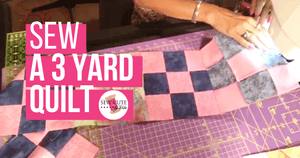 How to Sew a 3-Yard Quilt