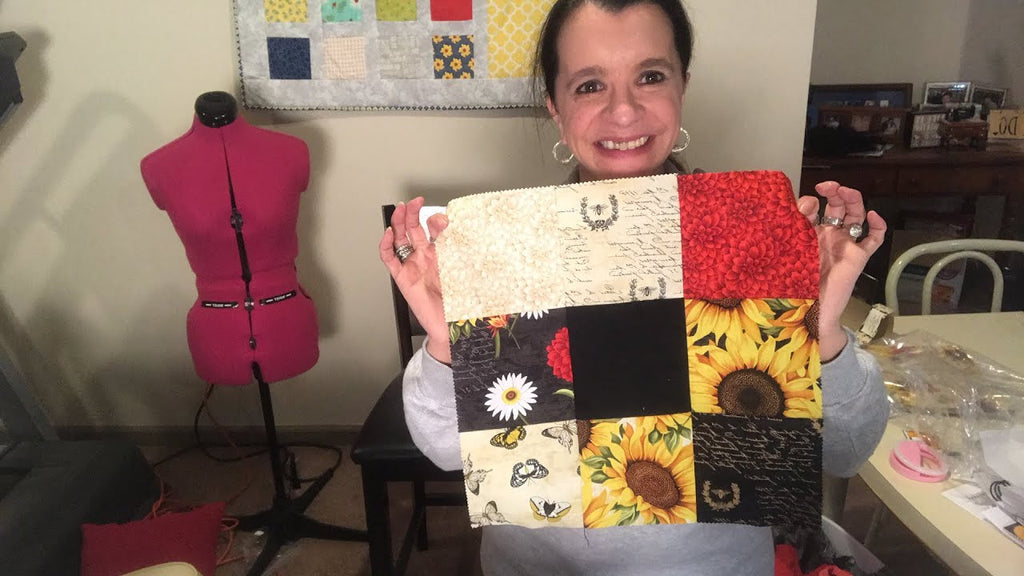 Sewing Quilts with Charm Packs and Layer Cakes