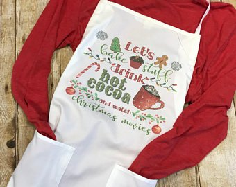 Christmas Holiday Apron - Sew Cute By Katie