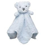 Blankie Monogrammed Bear security blanket - BLUE - Sew Cute By Katie