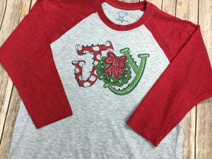 JOY Christmas Shirt - Sew Cute By Katie